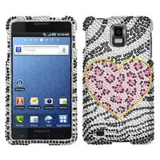 Playful Leopard Bling Hard Case Cover Samsung Infuse 4G