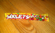 New 1.75 ounce package  Sixlets multicolor candy coated chocolate flavored Candy