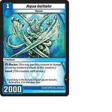 Kaijudo 3X AQUA INITIATE Common #31/160 13GAU (Playset) Quest for Gauntlet 2014