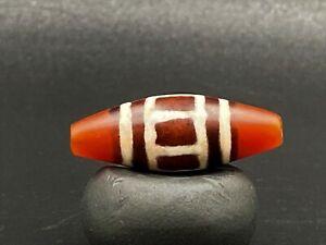 A rare and unique Pyu culture period dynasty carnelian Agate bead
