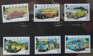 Jersey 2011 SG1553-1558.  Set. MNH---- Buses, Coaches.
