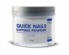 THE EDGE NAIL QUICK DIP FRENCH ACRYLIC DIPPING POWDER CLEAR 40g
