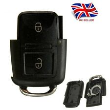 NEW 2 BUTTONS REMOTE KEY CASE FOB KEYLESS FOR VW GOLF MK4 BORA REPLACEMENT A38
