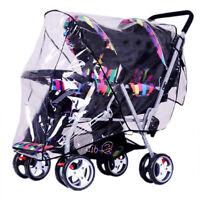 Universal Baby Stroller Waterproof Rain Cover Wind Dust Shield Carrier Rai EVA