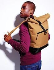 Roll-Top Backpack / Freizeit Rucksack | 32 x 44 x 13 cm | BagBase