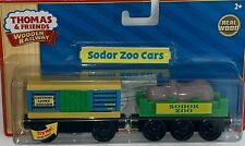 SODOR ZOO CARS Lion & Hippo Thomas & Friends WOODEN Railway BRAND NEW Train