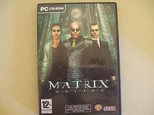 THE MATRIX ONLINE gioco pc originale completo game