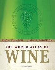 The World Atlas of Wine: Completely Revised and Updated, Sixth Edition-ExLibrary