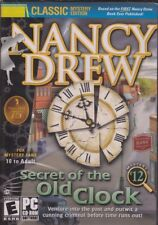 Nancy Drew SECRET OF THE OLD CLOCK #12 (Classic PC Game) FREE US SHIPPING