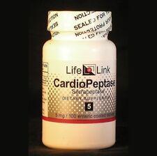 CardioPeptase 5mg LifeLink 100 Tabs