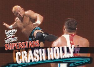 Crash Holly 2001 Fleer WWF Wrestlemania Rookie Card #42 RC WWE Hardcore Champion