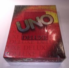 UNO DELUXE EDITION CARD GAME NEW FACTORY SEALED 2001