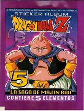 Peru 1999 Navarrete Dragon Ball Z5 - La Saga Majin Boo Sticker Pack