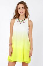 Ombre yellow sundress by Honey Punch