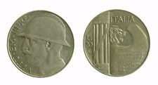 172) Regno Vittorio Emanuele III (1900-1943)  20 Lire 1928 Elmetto