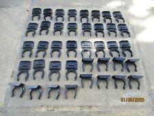 kitchen unit  plastic plinth brackets. x 50. Unused