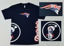 6149f1c8f28 New England Patriots NFL T Shirt SMALL Blue HAWAIIAN Flag Polynesian  Minutemen