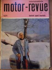 Tschechoslowakische MOTOR REVUE  12-1971 * Messe Brno Skoda 110 LS Jawa Six-days