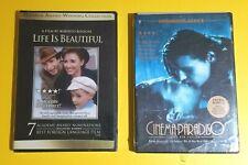 Lot: Cinema Paradiso / Life is Beautiful (New) Free Shipping!