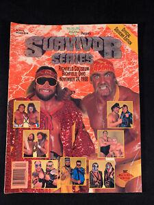 WWF Wrestling Program Survivor Series 1988 Macho Man Hulk Hogan Snake Duggan