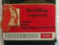 WDI ID BADGE Series 2009 JESSICA Rabbit LE 300 Disney Pin DLR WDW WFRR 69582
