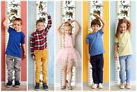 Regla Crecimiento de pared - Dinosaurios - niños y niñas