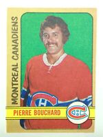 1972-73 Pierre Bouchard Montreal Canadiens 165 OPC O-Pee-Chee Hockey Card P255