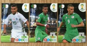 Panini Fifa World Cup 2014 Trading Cards - Algerie