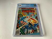 INVADERS 30 CGC 9.8 WHITE NAZI FLYING SAUCER CAPTAIN AMERICA MARVEL COMICS 1978