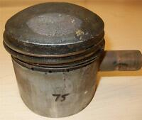1956-1959 Matchless G80CS 500cc USED 86mm +040 bore OEM Matchless piston ASSY-75