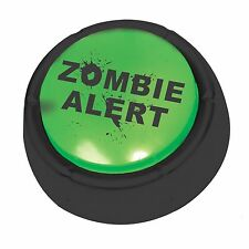 The Zombie Alert Button, Funny Sound Button Gag Gift