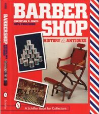 Barbershop: History & Antiques, 900+ items, 650 color photos, $0 Ship, New!