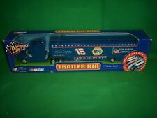 2002 NASCAR Winners Circle Trailer Rig #15 Michael Waltrip, God Bless America