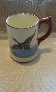 Dartmouth Pottery Large Tankard Mug With beautiful Flying Ducks Design-Marked 3?