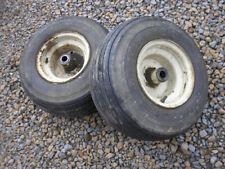 "Wheel Horse D-160 Tractor Carlisle Front Turf Tires Rims 18x8.50-8 - 1"" Bore"