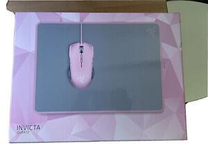 INVICTA Pink Razer Quartz Gaming Mouse Pad