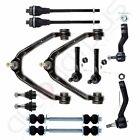 For 1999-2006 Chevy Silverado 1500 4x4 12pcs Front Upper Control Arms Tie Rods