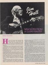 Jim Hall Downbeat Clipping ECLIPSED