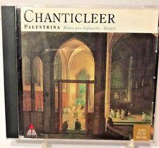 Chanticleer Giovanni Pierluigi da Palestrina Missa Pro Defunctis & Motets CD