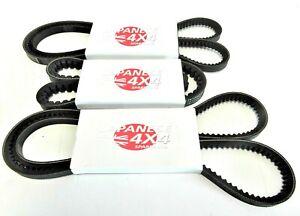 fits ISUZU RODEO 3.0TD TFS77 Fan Belt Kit for Alternator PS & AC 2003 - 2006