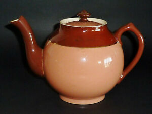 ANTIQUE c1885 MACINTYRE(Moorcroft) Bachelor Teapot Victorian ENGLISH faience
