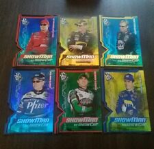 NASCAR 2005 Press Pass Showman Die Cut Foil Inserts (6) Dale Jr Martin see pics