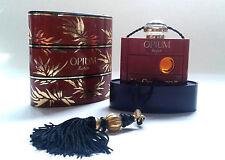 Vintage YSL Yves Saint Laurent Opium Perfume Splash 1/4 fl oz / 7.5 mL