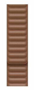 MINT Apple Leather Link Band for Watch Series 6 and SE Saddle Brown, S/M (44mm)