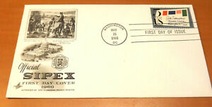 First Day Cover, Sixth International Philatelic Exhibition, SIPEX, 1966, FDC