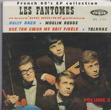LES FANTOMES  CD DIGIPACK  MAGIC COLLECTION DES EP'S FRANCAIS VOLUME 2