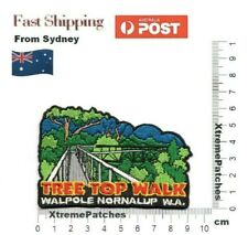 Tree Top Walk Walpole Nornalup WA Embroidered Iron Sew on Patch Badge