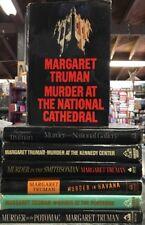 Lot Of 7 Margaret Truman Book Club Edition Hardcovers