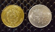 Set ( 2 ) 1975, 1971 Mardi Gras Doubloons Coins Tokens