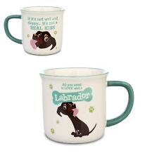 Chocolate Labrador Lab Dog Mug Gift/Present